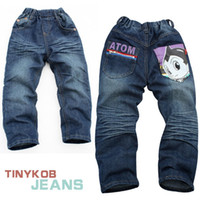 Wholesale Atom children s jeans for autumn and spring and retail