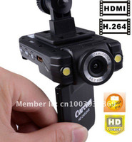 Wholesale H P Portable vehicle dvr with degree view angle quot LCD Degrees car dvr