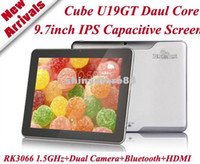 Wholesale 9 Cube U19GT Tablet PC IPS Screen Android Rockchip RK3066 Dual Core GHz GB GB