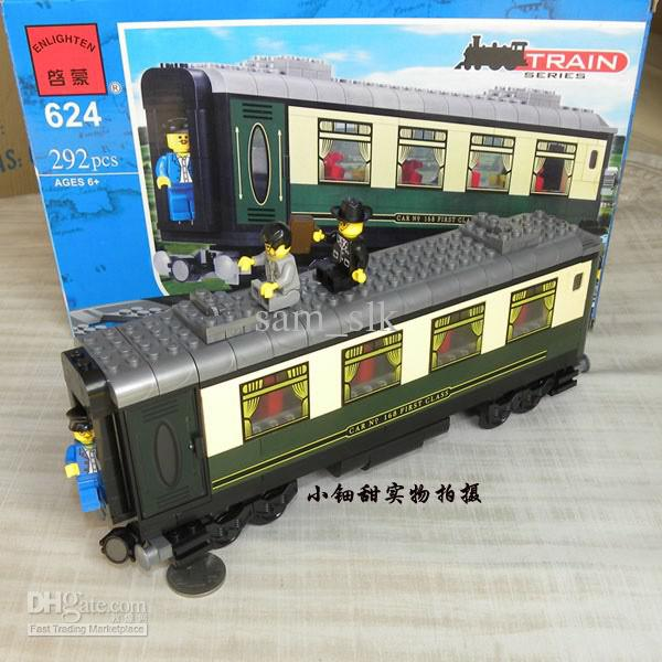 LDD MOC: Constitution Train Passenger Car - LEGO Train Tech ...