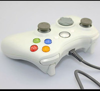 Wholesale White Wired USB Game Pad Controller For MICROSOFT Xbox SCA