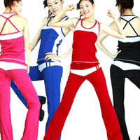 Wholesale yoga suit for women workout wear to keep fit for fashion ladies