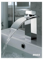 Wholesale chrome bathroom basin stream Faucet Mixer Tap Sink bar fg351