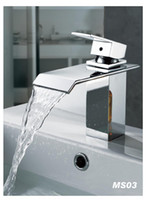 Wholesale chrome bathroom basin stream Faucet Mixer Tap Sink bar fg352