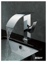 Wholesale chrome bathroom basin stream Faucet Mixer Tap Sink bar fg353