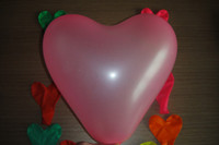 Wholesale Heart shaped balloons festive wedding love balloons colored balloons high quality th Length