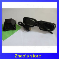 Wholesale GHJA74 D Glasses Kit for Nvidia D Vision Software on PC with Transmitter