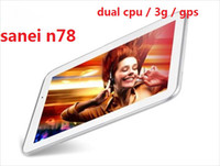 Sanei 800x480 Headphones Sanei n78 dual core 3G tablet pc 1.2GHz dual camera Build in 3G WIFI bluetooth