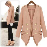 coats Autumn New star models Women' Jackets double- brea...