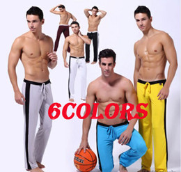 Wholesale Men s Casual Sport Sweat Pants Training Baggy Jogging Long Trousers Colors M L