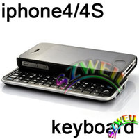 Wholesale Bluetooth Slider Keyboard Case for Iphone S G KRSK01
