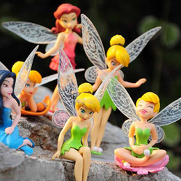 Wholesale 3 Beautiful faery dolls toy doll elf fairy butterfly is a beautiful girl of the six designs