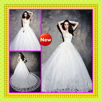 2013 Royal Luxury Lace Appliques Ball Gowns Cap Sleeves Cath...