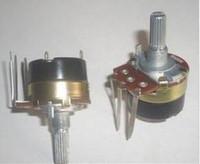 al por mayor 100k resistor-Potenciómetro con interruptor / regulador de voltaje / resistencia ajustable B5K, 10K, 50K, 100K, 500K 20pcs