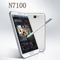 Wholesale 5 inch MTK6577 n7100 note II Android cell phone GHz GB G RAM N7100 mtk6577 Phone
