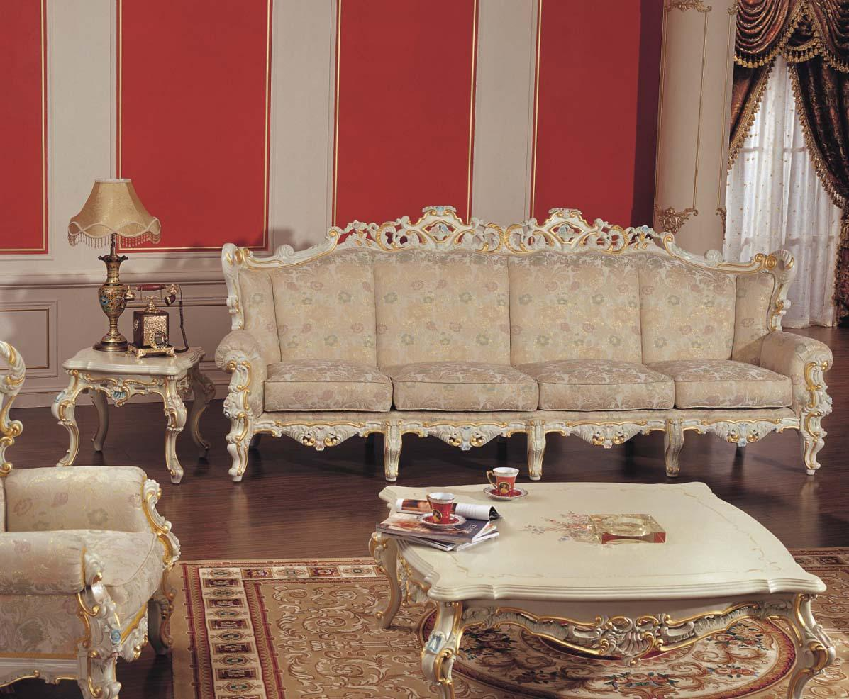 Leisure Fabric Sofa luxury Classic Home Furniture Hand Carved Solid Wood  Sofa Set Leisure Fabric Sofa. Home Luxury Furniture   RT Nail Products com