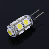 Wholesale 10X G4 LED light bulb SMD5050 V DC White Warm White G4 Led Degree lamp for Home Lightinng