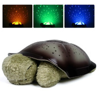 Wholesale Hot Sale New Romantic Star Night Light Baby Twilight Turtle Projector Lamp High Qualit
