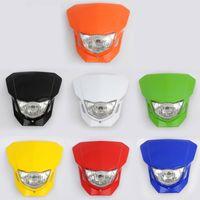 Headlights motorcycle headlamp - Dirt bike Motorcycle Universal Headlight motorcycle headlamp Guaranteed
