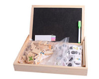 Wholesale learning box educational toys learning supplies pupils present wooden crafts