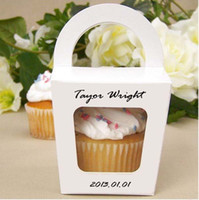 Wholesale 2013 new style single Cupcake box