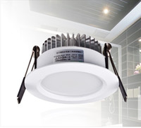 Wholesale W White Antifogging LED Downlight LED Dining room Bathroom Ceiling Lamp