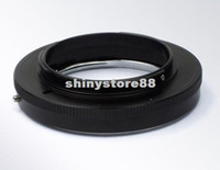 Wholesale PIXCO Macro Contax Yashica C Y Lens To Nikon Mount Adapter Ring Black aluminum Step Rings