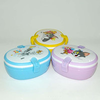 Wholesale Licensed Tom and Jerry BPA free foodgrade kids lunch box colros