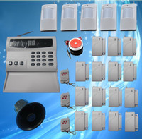 Wholesale Wireless Home Security Alarm Systems Kit Auto Dial Burglar Intruder Alarm Systems S223