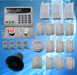 Wireless Home Security Alarm Systems Kit Auto Dial Burglar DIY home alarm system S224