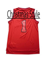 Wholesale Chicago Christmas Style Revolution New Material Red Stitched Basketball Jersey Jerseys