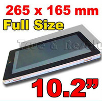 Wholesale GLL244 Tablet Pc Screen Protector for SuperPad Superpad Flytouch Flytouch Flytouch Infort