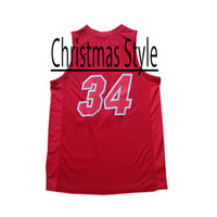 Wholesale Christmas Style Revolution New Material Miami Red New Season Basketball Jersey Hot Sell