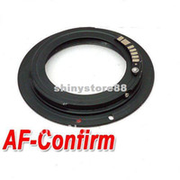 Wholesale AF Confirm Lens Mount Adapter Ring for M42 Lens and Canon EF D D D D