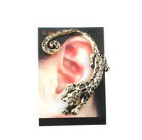 antique indian clubs - Cool Leopard Ear Cuff Hot Night Club Ornament Signle Ear Clip Alloy Antique Earring Jewelry