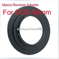 Wholesale 58mm Macro Reverse Adapter Ring for CANON EOS EF Mount