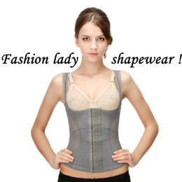 Wholesale Fashion Body Shapewear Cotton Straps Front Busk Closure Corsets Daily Wear Shapewear