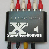 Wholesale 1pcs Quality DTS AC Home Theater Channel Audio Decoder