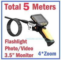 Wholesale Total Meters Dia mm Tube Snake Camera Endoscope Inspection Borescope DVR