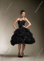 victorian ball gown wedding dresses - Sexy Sweetheart Black gothic victorian Ball Gown Wedding Dresses JA8611