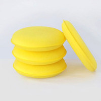 Wholesale 120PCS Car Auto Wash Cleaning Wax Polish Sponges Polishing Pad Vehicle Cleaner Tool