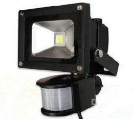 Hot Sale! Free Shipping 30W PIR Motion detective Sensor LED Flood light Outdoor Led Floodlight