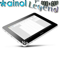 Wholesale Singapore post Newer Ainol Legend Tablet PC capacitive android WIFI HD P