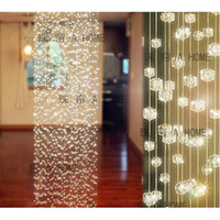 Wholesale strands x M long Crystal Curtain Wedding Decoration Acrylic Beaded Strands