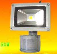 Wholesale High Quality W PIR Motion detective Sensor LED Flood light Outdoor Led Floodlight