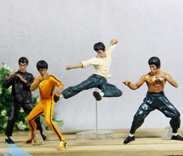 Wholesale Cool Bruce Lee Kung Fu Action Figures Toy model figures styles