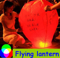 Christmas flying lanterns paper lantern Flying lantern kongming lanterns Chinese lantern paper lantern flying lanterns party light 10pcs