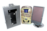 Wholesale Pro Pack LTL A Trail Farm Hunting Camera Cam Solar Panel Security Box GB SD
