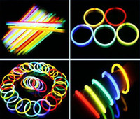 Wholesale 100pcs led flashing light wand novelty toy glow sticks christmas celebration festivities ceremony
