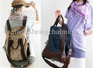 2013 Latest Style Korean Women Casual Canvas Handbag Crossbody ...